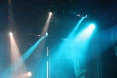 Światło reflektorów w theatre Zdjęcie Stock