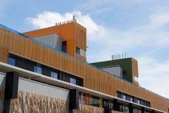 Światło słoneczne Brzegowy Uniwersytecki szpital zdjęcia royalty free