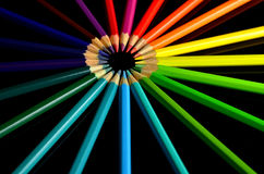 Światło słoneczne ołówki Obrazy Stock