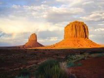 Światło słoneczne po burzy, Utah Obrazy Royalty Free