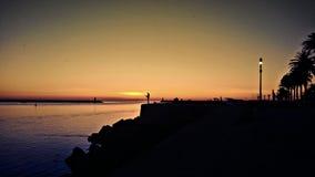 Światło słoneczne w Porto Zdjęcia Stock