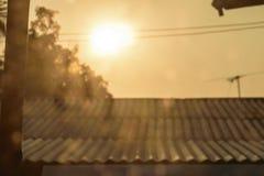 Światło słoneczne w ranku fotografia royalty free