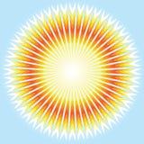 światło słoneczne wektor Zdjęcia Royalty Free