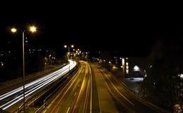 Światło samochody Zdjęcia Royalty Free