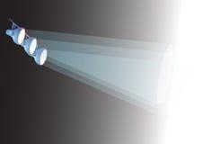 światło scena ilustracji