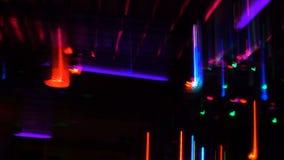 Światło skutki przy przyjęciem zdjęcie wideo