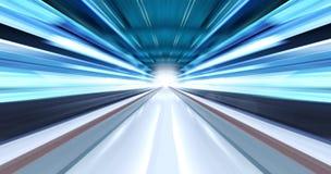 światło smarujący tunel Obrazy Stock