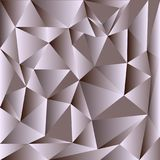 Światło - szary wektorowy olśniewający trójgraniasty tło Kolorowa ilustracja w abstrakta stylu z trójbokami Trójgraniasty wzór dl ilustracji