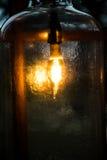 Światło w butelce Obrazy Royalty Free