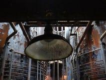 Światło w centrum zaniechana fabryka Zdjęcie Royalty Free
