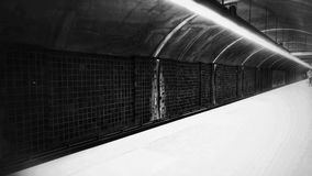 Światło w końcówce tunel Obraz Stock