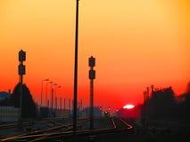 Światło w końcówce tunel Fotografia Royalty Free