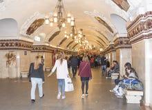 Światło w końcówce tunel Obrazy Royalty Free