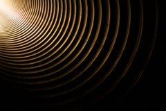 Światło w tunelu Obraz Royalty Free