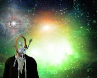 Światło w wszechświacie ilustracja wektor