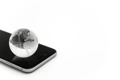 Świat łączący pojęcie cyfrowo wytwarzał cześć wizerunku sieci res socjalny zdjęcia stock