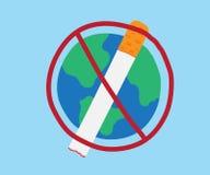 Świat Żadny Tabaczny dzień ilustracji
