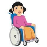 Dzieciak Niepełnosprawna Wektorowa ilustracja Zdjęcie Stock