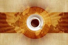 Świat kawa ilustracji