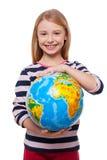 Świat w mój rękach! Obrazy Royalty Free