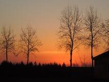 Świat w wschodzie słońca Zdjęcie Stock