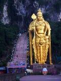 Świat wysoka statua Murugan, lokalizować outside Batu Zawala się Fotografia Royalty Free