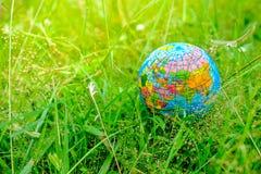 Świat z naturą i kocha świat obraz royalty free