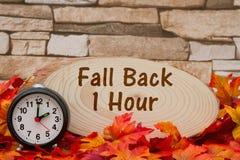 Świateł dziennych savings czasu wiadomość obraz stock
