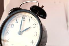 Świateł dziennych Savings Skaczą Przednia Niedziela przy 2:00 a M Fotografia Royalty Free