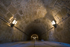 świateł kamienia tunel Fotografia Royalty Free