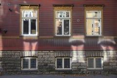 Świateł słonecznych okno odbicia Fotografia Stock