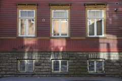 Świateł słonecznych okno odbicia Zdjęcie Stock