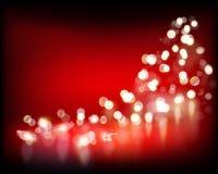 światełka świąteczne również zwrócić corel ilustracji wektora ilustracja wektor