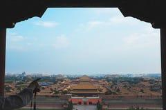 Światopogląd Niedozwolony miasto obrazy royalty free