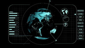 Światowa inwigilacja ilustracja wektor