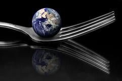 Światowa kuchnia fotografia stock
