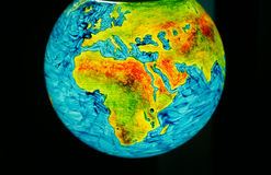 Światowa kula ziemska Fotografia Royalty Free