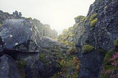 Światowa otchłań w Iceland Obraz Royalty Free