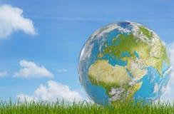 Światowa planety ziemia Europa Elementy ten wizerunek meblujący N ilustracji