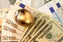 światowe związane waluty zdjęcie royalty free