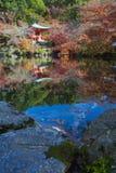Światowego dziedzictwa Daigoji świątynia obraz royalty free