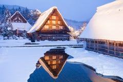 Światowego Dziedzictwa miejsca Shirakawago wioska obraz stock
