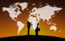 Światowego Globalnego kartografia globalizacja Ziemski zawody międzynarodowi Conce fotografia stock