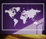 Światowego Globalnego kartografia globalizacja Ziemski zawody międzynarodowi Conce obraz stock