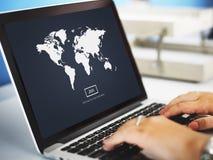 Światowego Globalnego kartografia globalizacja Ziemski zawody międzynarodowi Conce obrazy royalty free