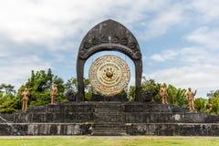 Światowego pokoju gong w Desa Budayal Kertalangu, Bali, Indonezja fotografia royalty free