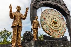 Światowego pokoju gong w Desa Budayal Kertalangu, Bali, Indonezja zdjęcie royalty free