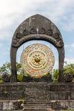 Światowego pokoju gong w Desa Budayal Kertalangu, Bali, Indonezja obraz stock