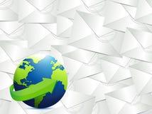 Światowej mapy ilustracyjny projekt ilustracja wektor