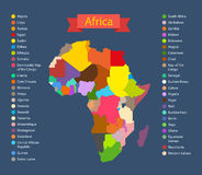 Światowej mapy infographic szablon Zdjęcia Stock